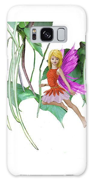 Catalpa Tree Fairy Among The Seed Pods Galaxy Case