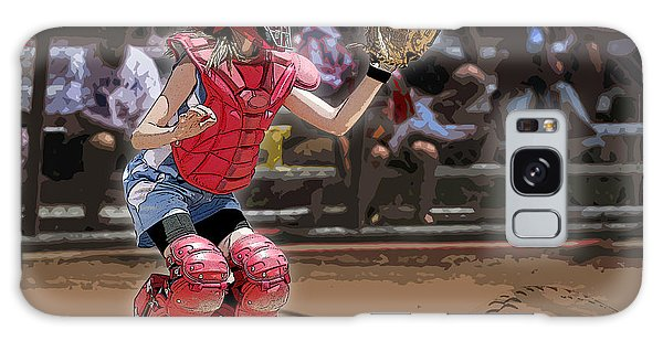 Softball Galaxy Case - Catch It by Kelley King