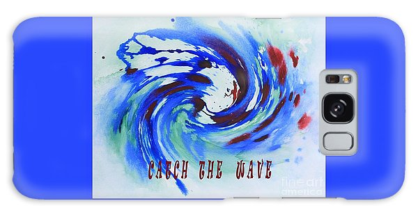 Catch The Wave Galaxy Case