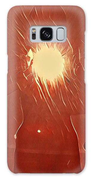 Galaxy Case - Catching Fire by Gina Callaghan