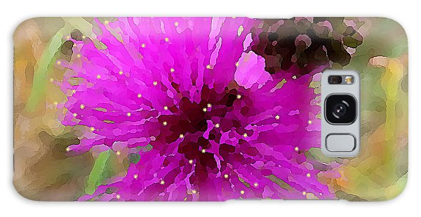 Catclaw Pink Mimosa  Galaxy Case