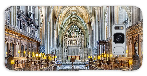 Cathedral Aisle Galaxy Case