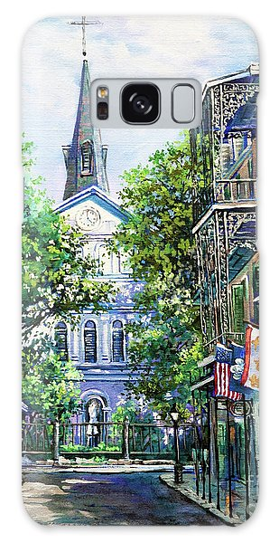 Cathedral At Orleans Galaxy Case
