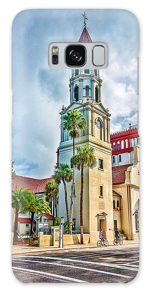 Galaxy Case featuring the photograph Cathedral Basilica by Anthony Baatz