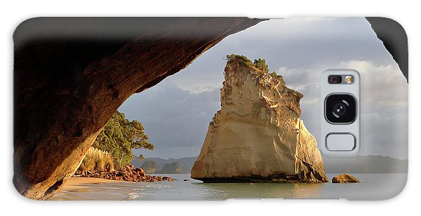 Cathedral Cove Galaxy Case