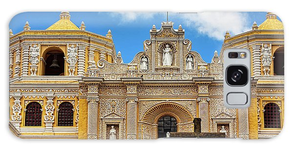Cathedral In Antigua, Guatemala Galaxy Case