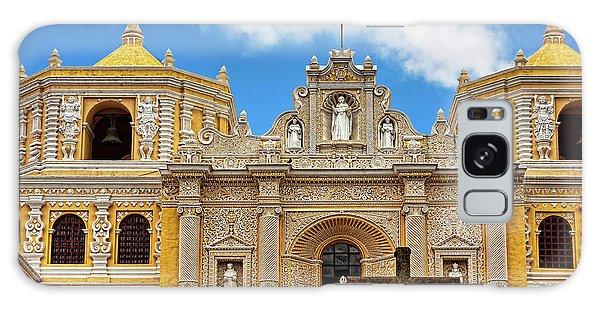 Cathedral In Antigua, Guatemala Galaxy Case