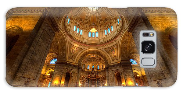 Cathedral Of St Paul Wide Interior St Paul Minnesota Galaxy Case