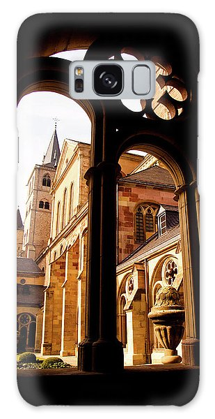Cathedral Of Trier Window Galaxy Case
