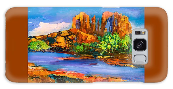 Cathedral Rock Afternoon Galaxy Case