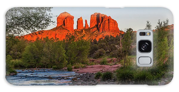Cathedral Rock At Red Rock Crossing Galaxy Case