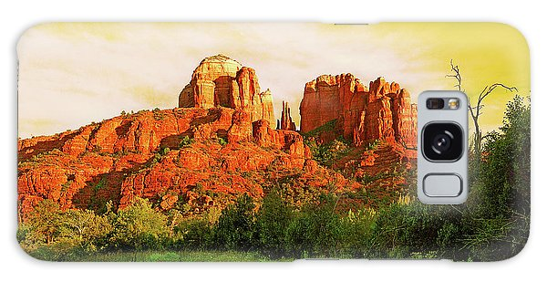 Cathedral Rock Az Galaxy Case