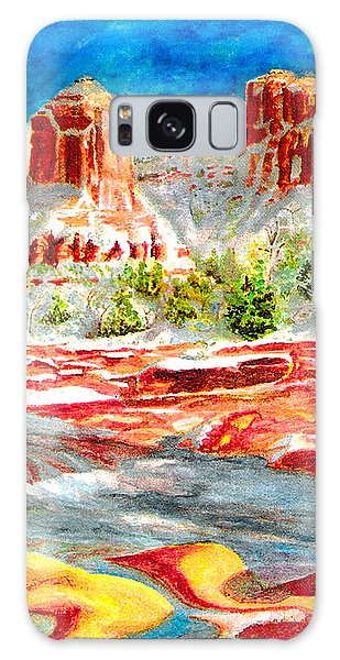 Cathedral Rock Crossing Galaxy Case