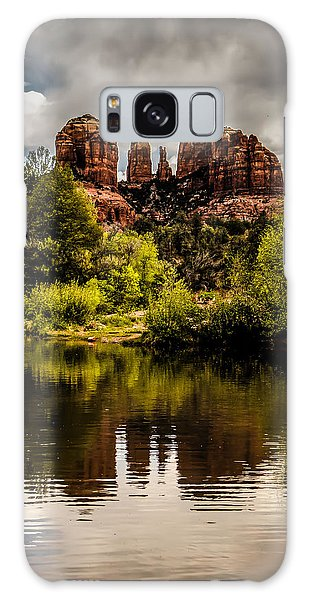 Cathedral Rock Reflections Galaxy Case