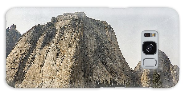 Cathedral Spires Yosemite Valley Yosemite National Park Galaxy Case