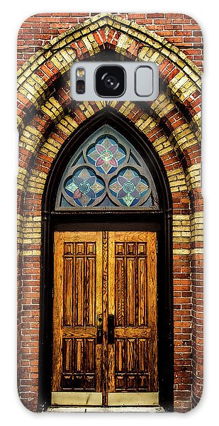 Cathedral Tower Door Galaxy Case by Onyonet  Photo Studios