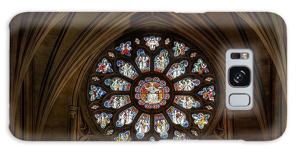 Cathedral Window Galaxy Case by Adrian Evans