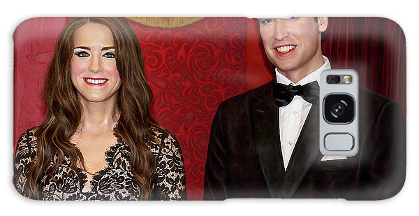 Galaxy Case featuring the photograph Catherine And Prince William by Miroslava Jurcik
