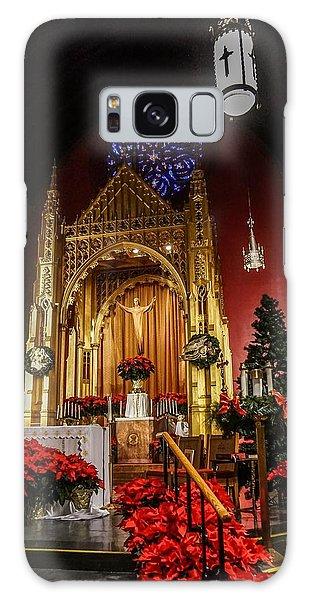 Catholic Christmas Galaxy Case