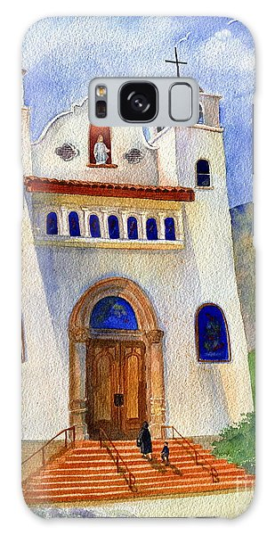 Place Of Worship Galaxy Case - Catholic Church Miami Arizona by Marilyn Smith