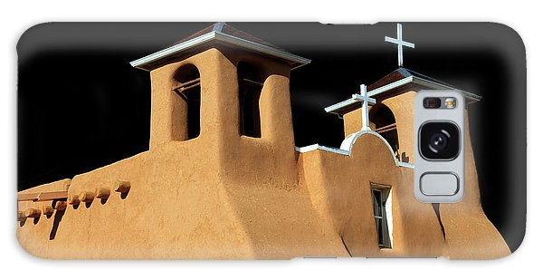 St Francis De Assi Church  New Mexico Galaxy Case by Bob Christopher