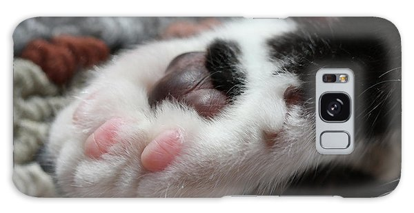 Cats Paw Galaxy Case by Kim Henderson