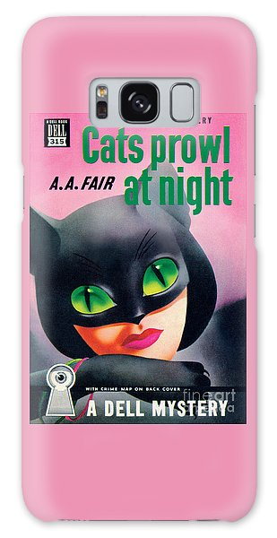 Cats Prowl At Night Galaxy Case