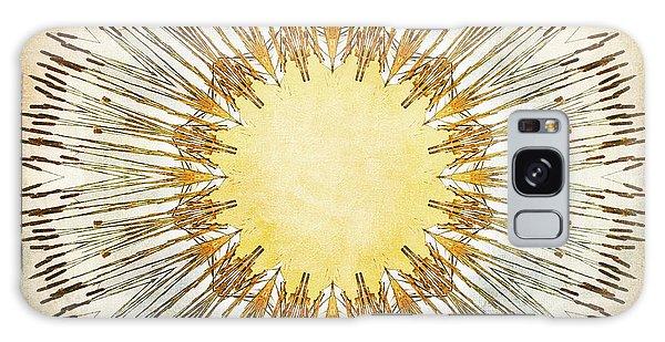 Cattail Mandala - Galaxy Case