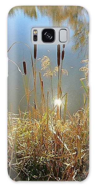 Cattails Galaxy Case