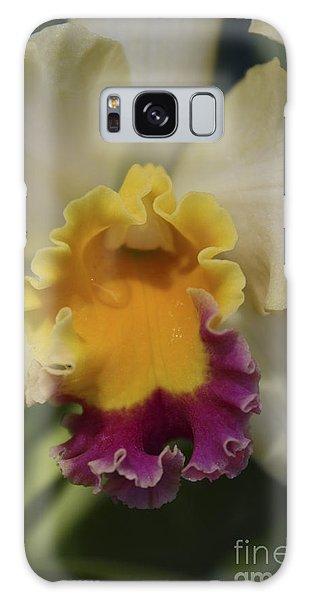 Cattleya  Galaxy Case by Marilyn Carlyle Greiner