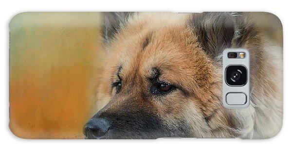 Caucasian Shepherd Dog Galaxy Case by Eva Lechner