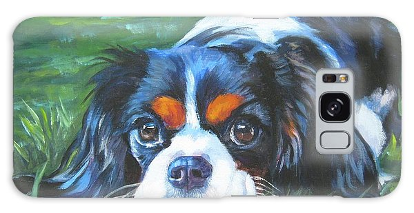 Cavalier King Charles Spaniel Tricolor Galaxy Case