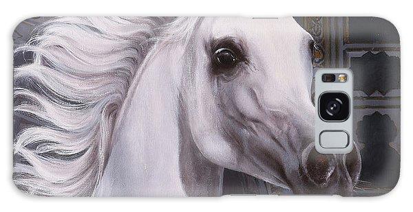 White Horse Galaxy S8 Case - Cavallo A Punta by Guido Borelli