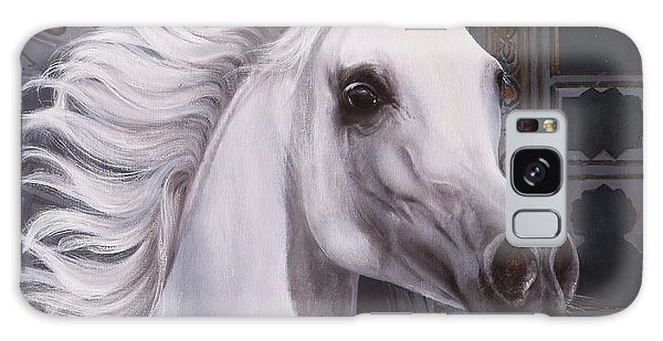 White Horse Galaxy Case - Cavallo A Punta by Guido Borelli