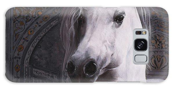 White Horse Galaxy S8 Case - Cavallo Col Ciuffo by Guido Borelli