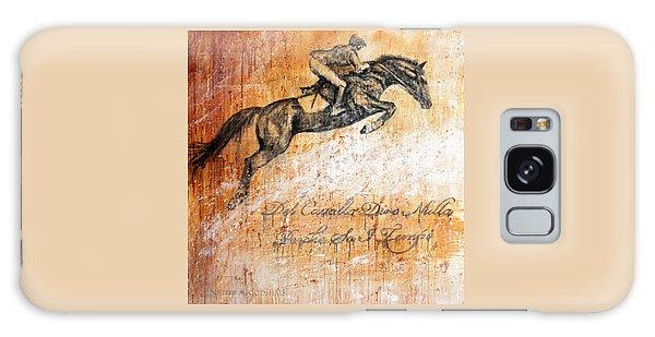 Cavallo Contemporary Horse Art Galaxy Case