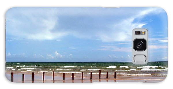 Padre Island National Seashore Galaxy S8 Case - Cc31 Beach Posts by James D Waller