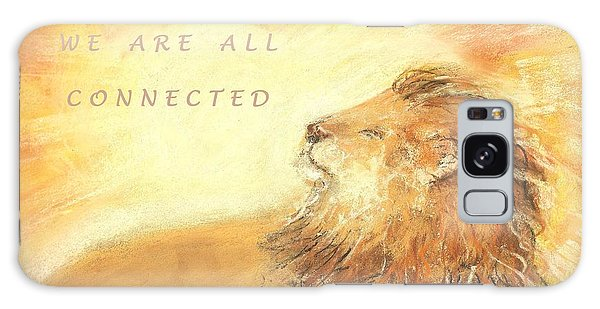 Cecil The Lion Galaxy Case by Denise Fulmer