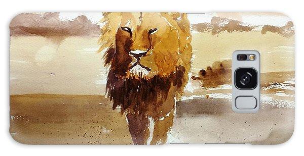 Cecil The Lion Galaxy Case by Larry Hamilton