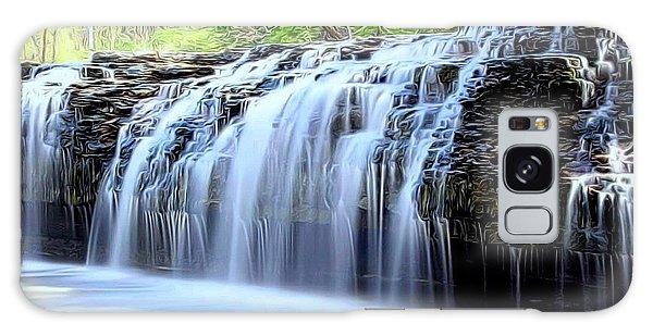 Cedar Creek Falls, Kansas Galaxy Case