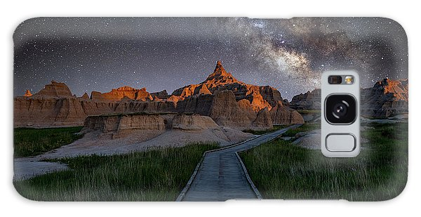 Galaxy Case featuring the photograph Cedar Pass Milky Way by Darren White