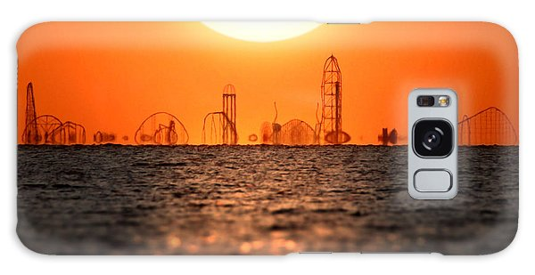 Cedar Point Skyline 2 Galaxy Case