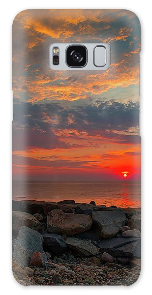 Cedar Point Sunrise Galaxy Case