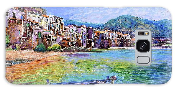 Seaside Galaxy Case - Cefalu Sicily Italy by Jane Small