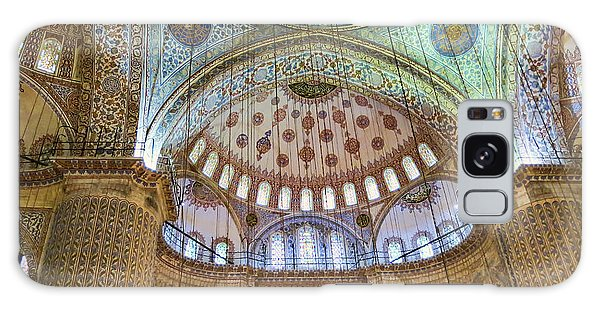 Ceiling Of Blue Mosque Galaxy Case