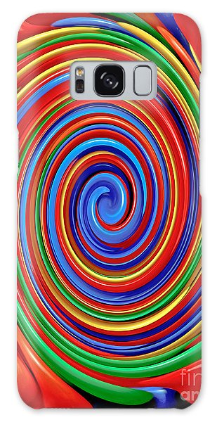 Celebrate Life And Have A Swirl Galaxy Case