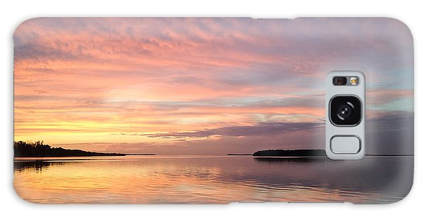Celebrating Sunset In Key Largo Galaxy Case