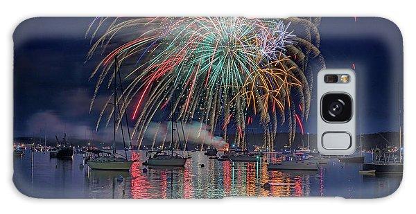 Galaxy Case featuring the photograph Celebration In Boothbay Harbor by Rick Berk