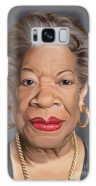 Celebrity Sunday - Maya Angelou Galaxy Case by Rob Snow
