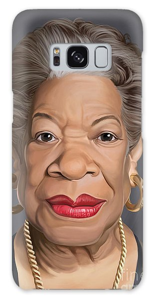 Celebrity Sunday - Maya Angelou Galaxy Case